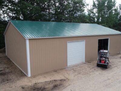 40x60x14 Steel Pole Barn