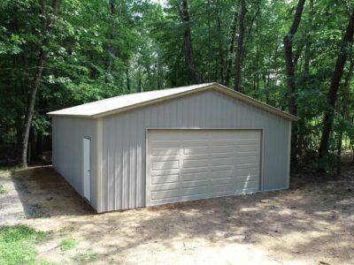 26x30x9 Metal Garage
