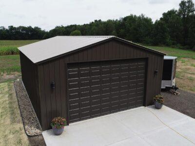26x30 Steel Garage